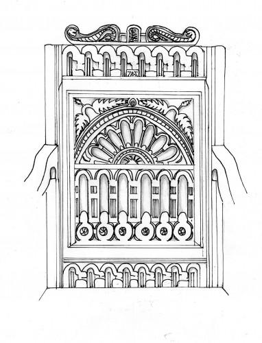 17th c chair